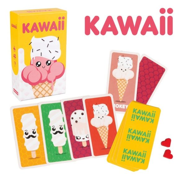 juego de cartas Kawaii: EL JUEGO DE LOS HELADOS !!! en tu tienda online jugajoc