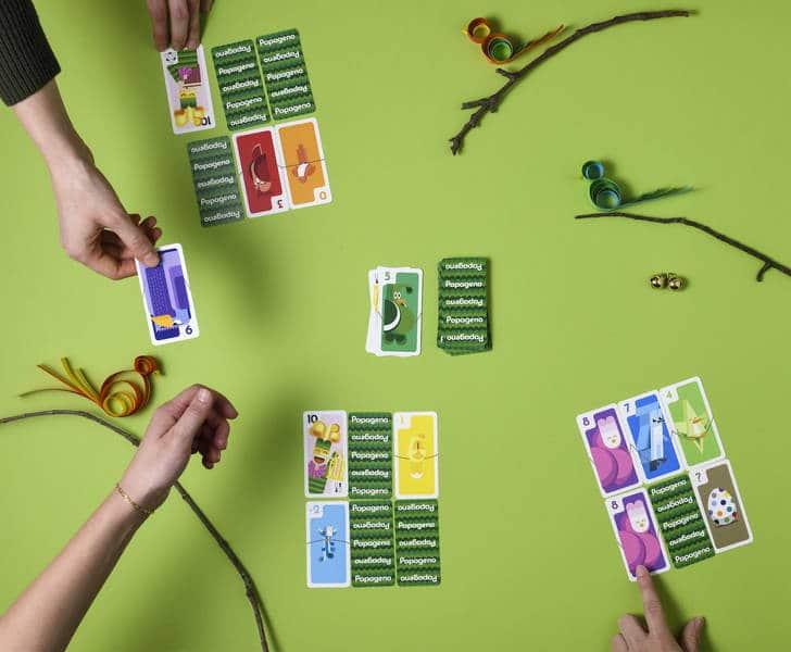 juego de cartas Papageno en Jugajoc tienda de juguetes online
