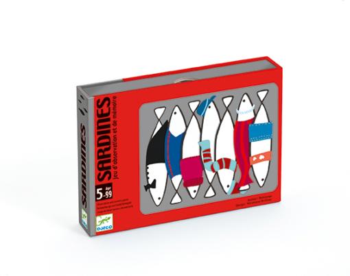 Juego de cartas Sardinas Djeco