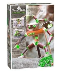 terra kids connectors figuras 66piezas jugajoc