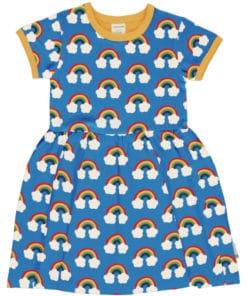 vestido corto rainbow jugajoc