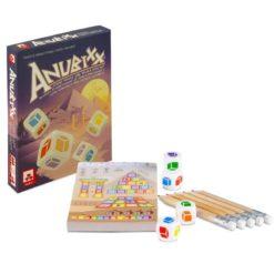 Anubixx mercurio jugajoc juego de daados
